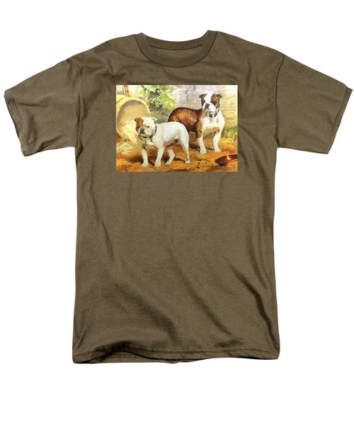 English Bulldogs Men's T-Shirt  (Regular Fit) by Charmaine Zoe