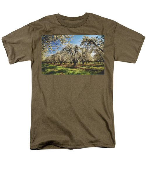 Men's T-Shirt  (Regular Fit) featuring the photograph Everything Is New Again by Laurie Search