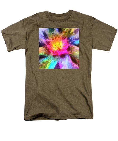 Men's T-Shirt  (Regular Fit) featuring the photograph Floral Mandala 01 by Jack Torcello