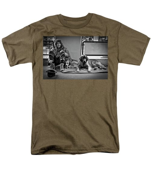 Men's T-Shirt  (Regular Fit) featuring the photograph For The Love Of Dog by Sonny Marcyan