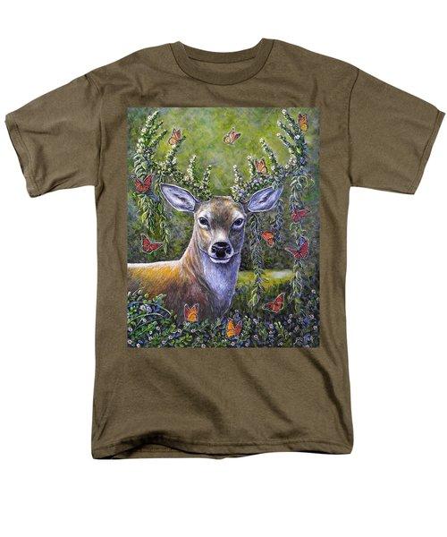 Forest Monarch Men's T-Shirt  (Regular Fit) by Gail Butler