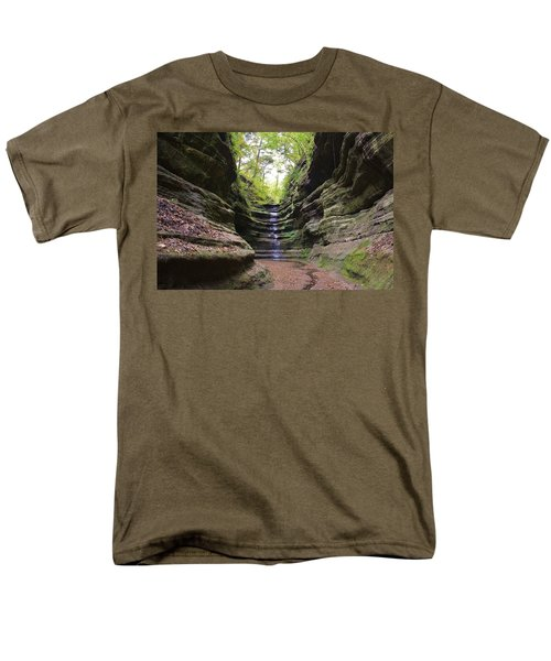 French Canyon Men's T-Shirt  (Regular Fit) by Bruce Bley