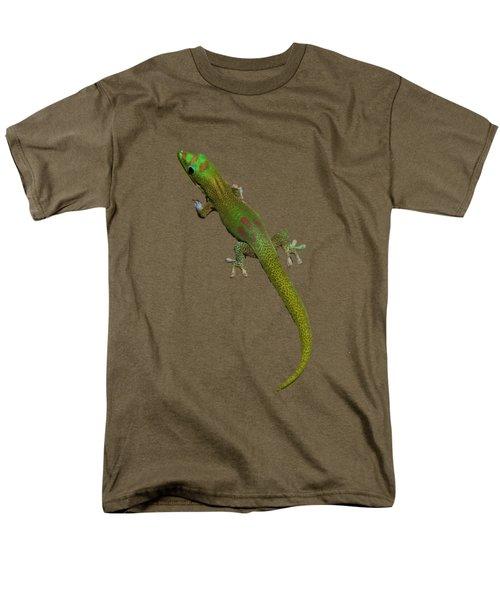 Gecko  Men's T-Shirt  (Regular Fit) by Pamela Walton