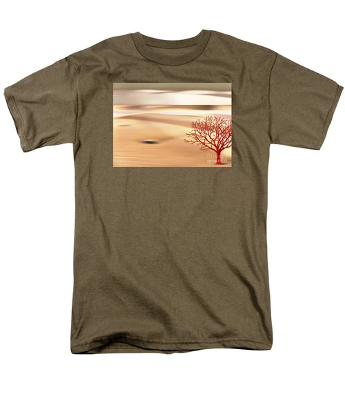 Men's T-Shirt  (Regular Fit) featuring the digital art Global Warming by Klara Acel