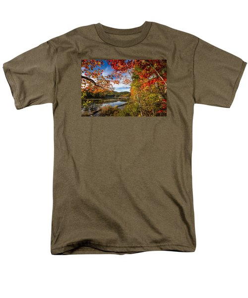 Men's T-Shirt  (Regular Fit) featuring the photograph Grafton, New Hampshire by Robert Clifford