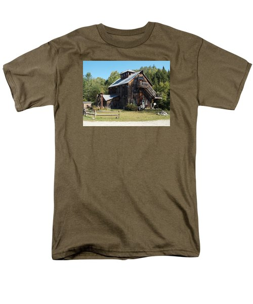 Grist Mill Men's T-Shirt  (Regular Fit) by Catherine Gagne