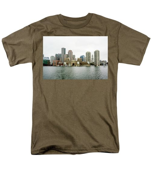 Men's T-Shirt  (Regular Fit) featuring the photograph Harbor View by Greg Fortier