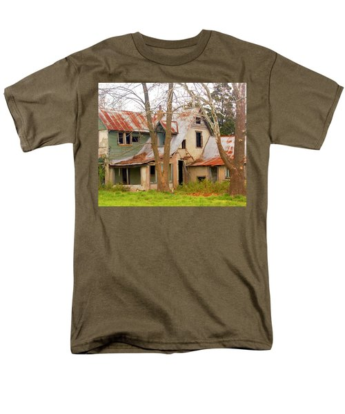 Haunted House Men's T-Shirt  (Regular Fit) by Marty Koch
