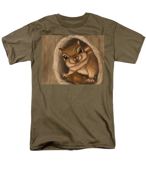 Men's T-Shirt  (Regular Fit) featuring the painting Hello by Veronica Minozzi
