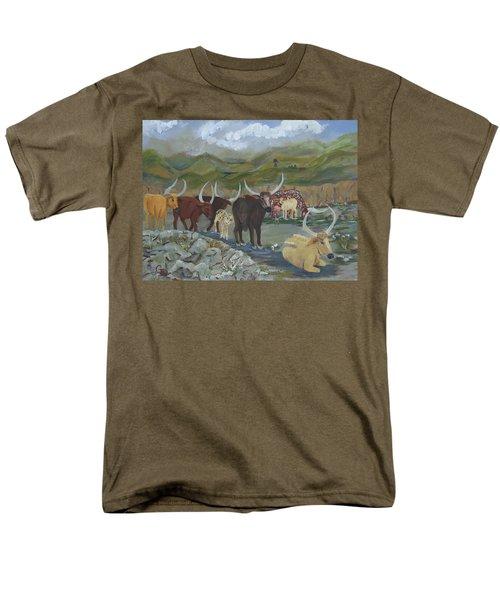 Home On The Range Men's T-Shirt  (Regular Fit)