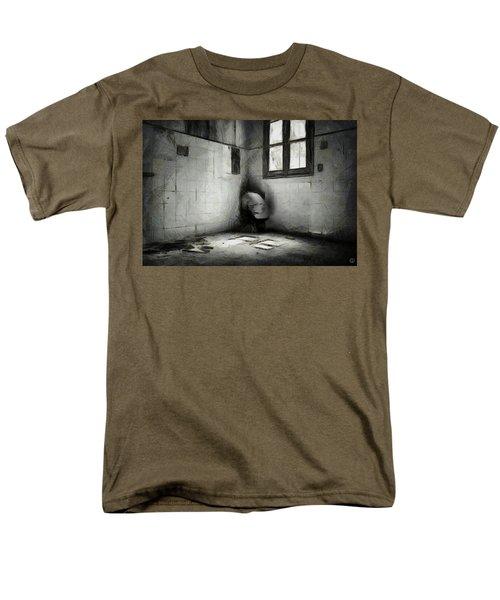 In The Corner Men's T-Shirt  (Regular Fit) by Gun Legler