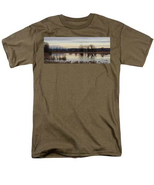 January Thaw 2 Men's T-Shirt  (Regular Fit) by I'ina Van Lawick