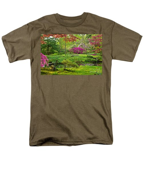 Japanese Garden Men's T-Shirt  (Regular Fit) by Anastasy Yarmolovich