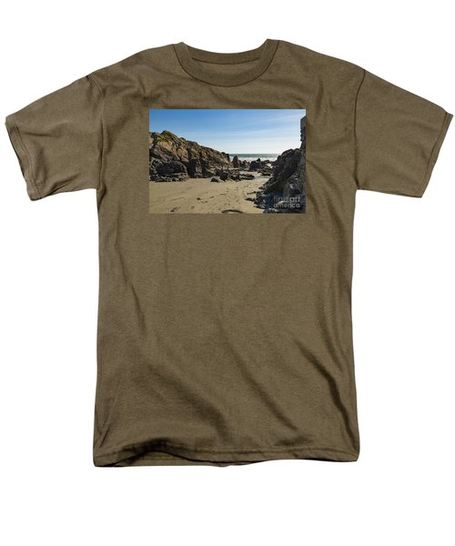 Men's T-Shirt  (Regular Fit) featuring the photograph Kennack Sands by Brian Roscorla