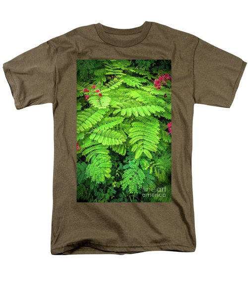 Men's T-Shirt  (Regular Fit) featuring the photograph Leaves by Charuhas Images