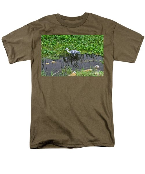 Looking For Lunch Men's T-Shirt  (Regular Fit) by Carol  Bradley