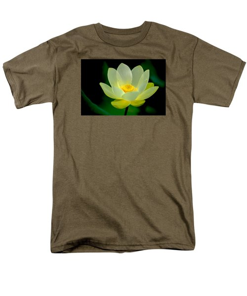 Men's T-Shirt  (Regular Fit) featuring the photograph Lotus Blossom by Tyson and Kathy Smith