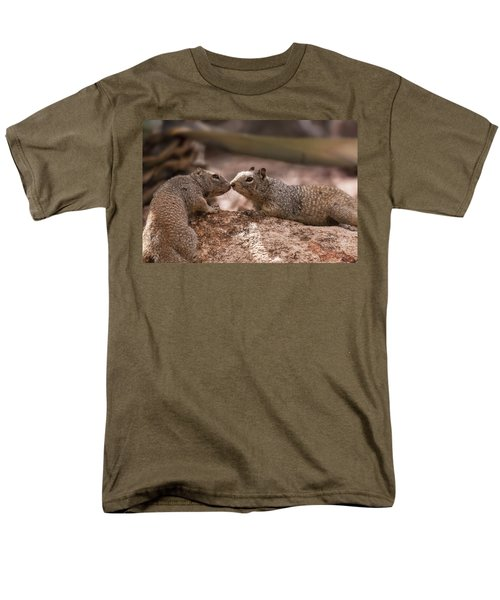 Men's T-Shirt  (Regular Fit) featuring the photograph Love Is In The Air  by Saija Lehtonen
