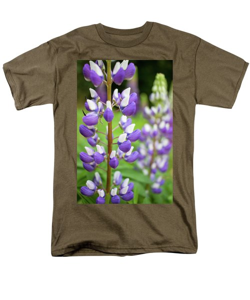 Men's T-Shirt  (Regular Fit) featuring the photograph Lupine Blossom by Robert Clifford