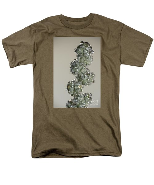 Meadow Flower And Drops Men's T-Shirt  (Regular Fit) by Odon Czintos