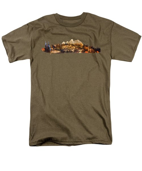 Mirror Finish Men's T-Shirt  (Regular Fit) by Troy Rider