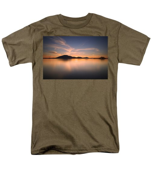 Mountain Sunset Men's T-Shirt  (Regular Fit)