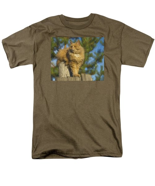 My Cat Men's T-Shirt  (Regular Fit) by Vladimir Kholostykh