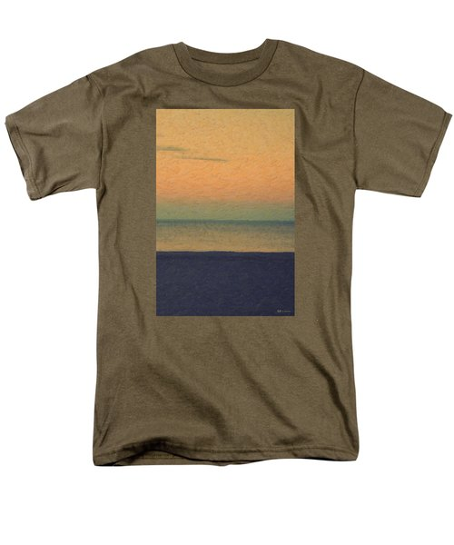 Not Quite Rothko - Breezy Twilight Men's T-Shirt  (Regular Fit) by Serge Averbukh