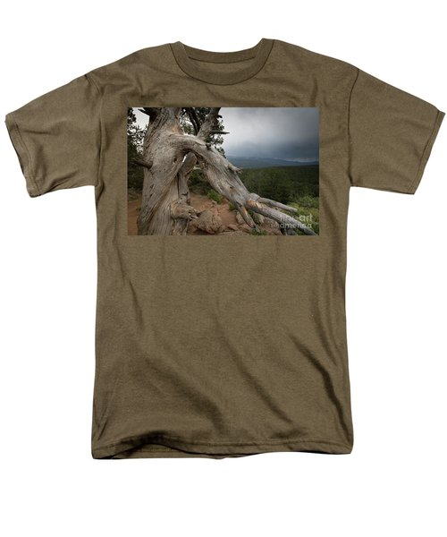 Old Tree On The Mountain Men's T-Shirt  (Regular Fit)