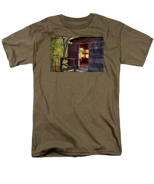Open Door Men's T-Shirt  (Regular Fit) by Ester  Rogers