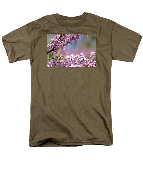 Pastel Blossoms Men's T-Shirt  (Regular Fit) by Michele Wilson