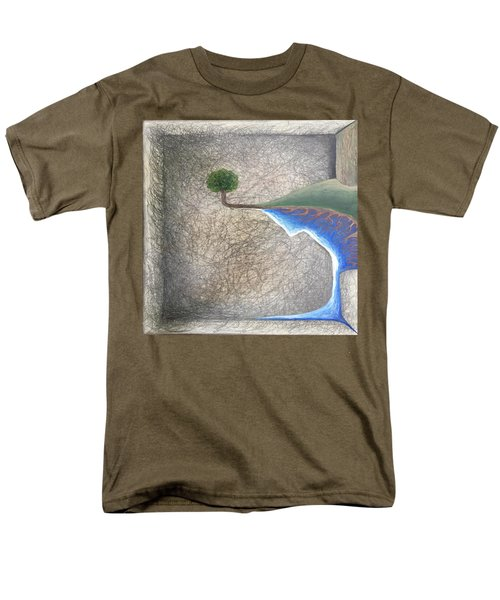 Pillow Men's T-Shirt  (Regular Fit) by Steve  Hester