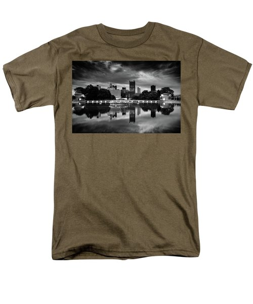 Pittsburgh  Reflections  Men's T-Shirt  (Regular Fit) by Emmanuel Panagiotakis