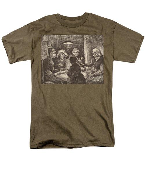 Potato Eaters, 1885 Men's T-Shirt  (Regular Fit) by Vincent Van Gogh