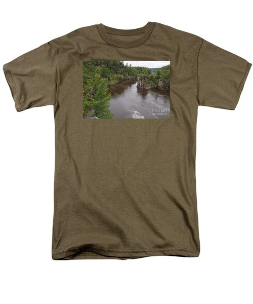 Men's T-Shirt  (Regular Fit) featuring the photograph Rainy Day Beauty by Sandra Updyke