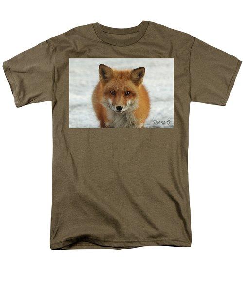 Red Fox Men's T-Shirt  (Regular Fit) by Diane Giurco