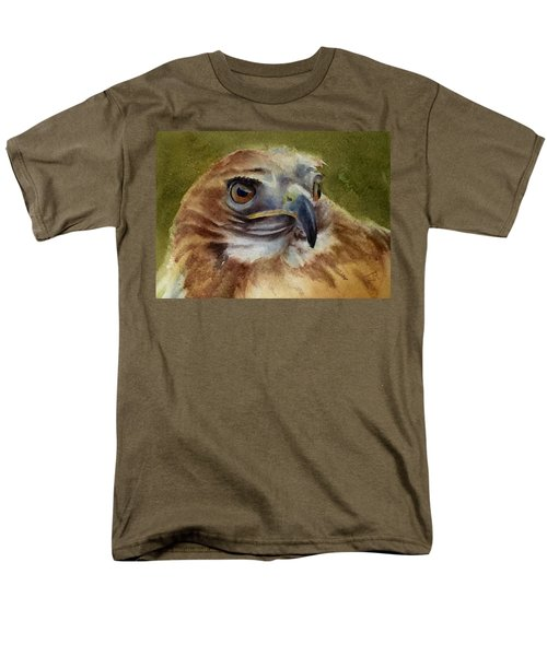 Red-shouldered Hawk Men's T-Shirt  (Regular Fit)