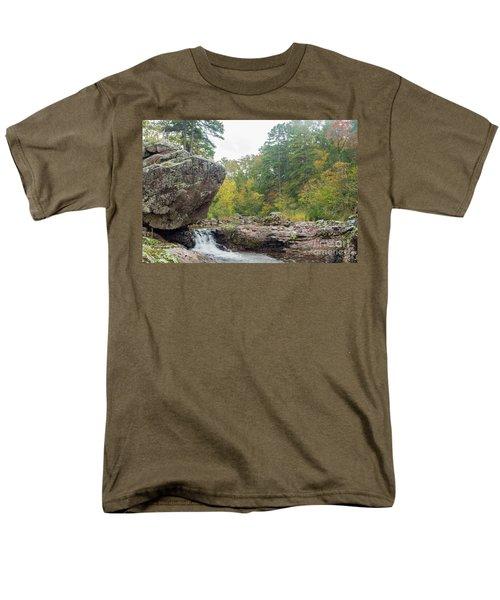Rocky Creek Shut-ins Men's T-Shirt  (Regular Fit)