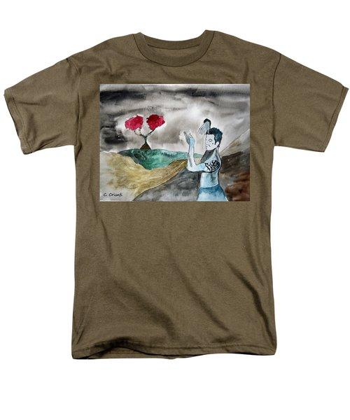 Scott Weiland - Stone Temple Pilots - Music Inspiration Series Men's T-Shirt  (Regular Fit) by Carol Crisafi