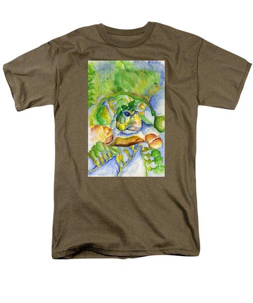 Sea Turtle Hideaway Men's T-Shirt  (Regular Fit)