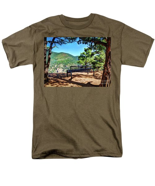 Men's T-Shirt  (Regular Fit) featuring the photograph Secret Place by Deborah Klubertanz