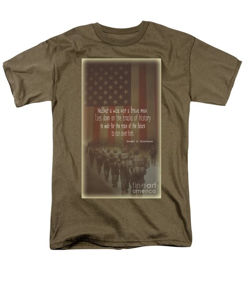 Men's T-Shirt  (Regular Fit) featuring the photograph Serving Our Country by Debby Pueschel