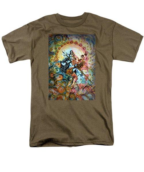 Shiva Shakti Men's T-Shirt  (Regular Fit) by Harsh Malik