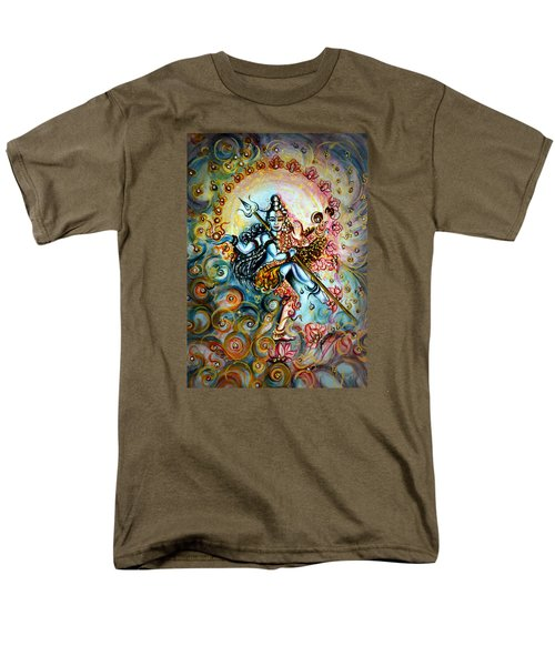 Shiva Shakti Men's T-Shirt  (Regular Fit)