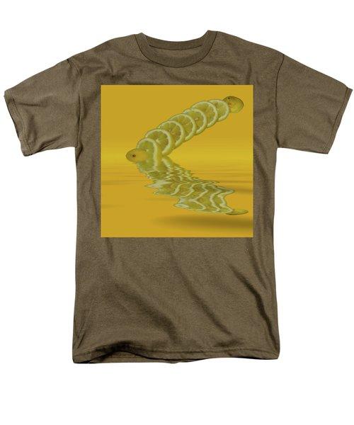 Men's T-Shirt  (Regular Fit) featuring the photograph Slices Lemon Citrus Fruit by David French