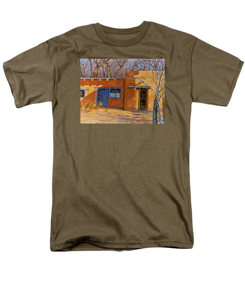 Men's T-Shirt  (Regular Fit) featuring the painting Sol Y Sombre by Ann Peck