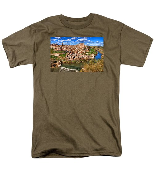 Men's T-Shirt  (Regular Fit) featuring the photograph Spanish Toledo by Dennis Cox WorldViews