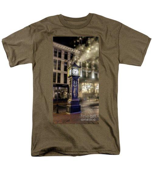 Men's T-Shirt  (Regular Fit) featuring the photograph Steam Clock by Jim  Hatch