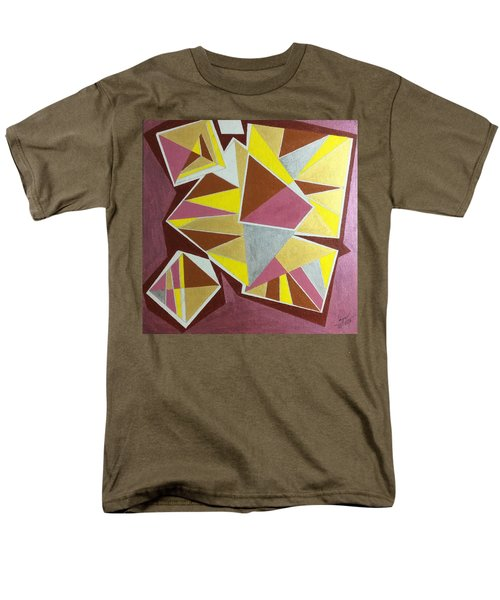 Men's T-Shirt  (Regular Fit) featuring the painting Summer by Hang Ho