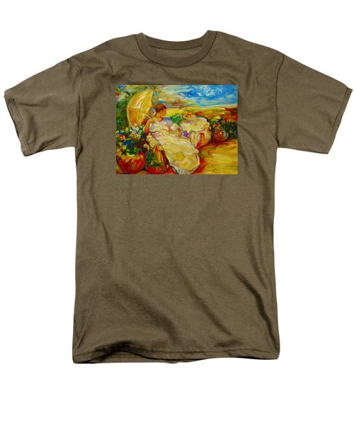 Men's T-Shirt  (Regular Fit) featuring the painting Sun Set by Emery Franklin